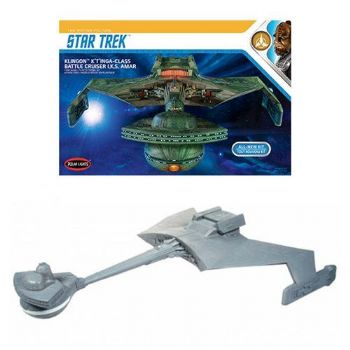 Star Trek Klingon K'tinga 1:350 Scale Model Kit Polar Lights